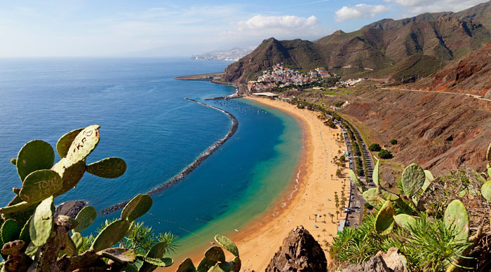 Where's Hot November - Las Teresitas beach, Tenerife