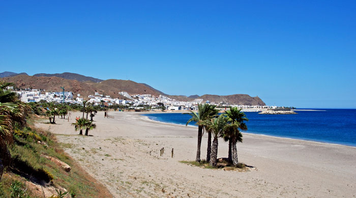 Where's Hot October - Beach on Costa Almeria