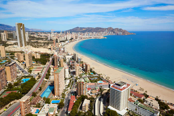 Where's Hot September - Benidorm, Costa Blanca