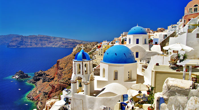 Where's Hot September - Santorini, Greece