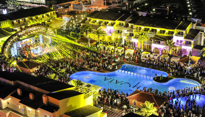 Ushuaia pool party, Ibiza