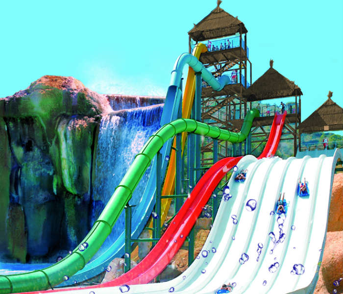 The Big Bang water slide, Benidorm