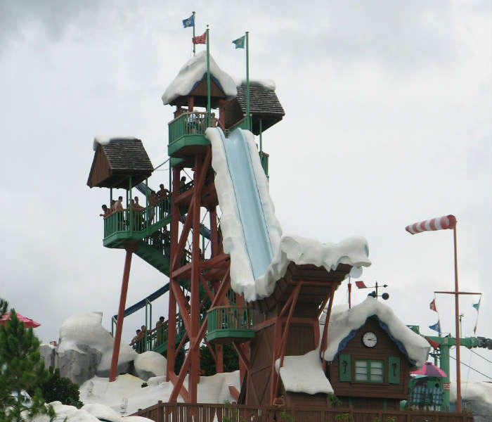 Summit Plummet water slide, Orlando